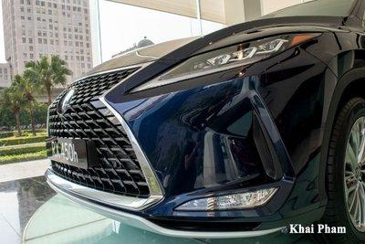 Ảnh đầu xe Lexus RX 450h 2020