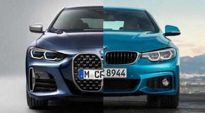 Thiết kế BMW 4-Series 2021 mới khác BMW 4-Series cũ nhiều không ?