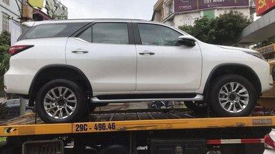 Vừa ra mắt Thái Lan, Toyota Fortuner nâng cấp đã xuất hiện không che tại Việt Nam a2