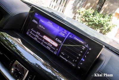 Ảnh màn hình xe Lexus LX 570 Super Sport Black Edition 2020