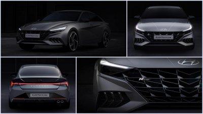 Hyundai Elantra N Line 2021 sẽ sớm về tay người hâm mộ.