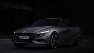 Hyundai Elantra N Line 2021 nâng tầm quyến rũ.