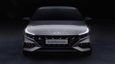 Hyundai Elantra N Line 2021 đẹp mắt.