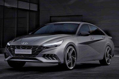 Hyundai Elantra N Line 2021 hiệu suất cao, thể thao thượng đỉnh.