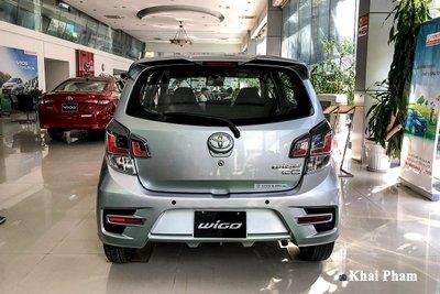 Ảnh chính diện đuôi xe Toyota Wigo 2020