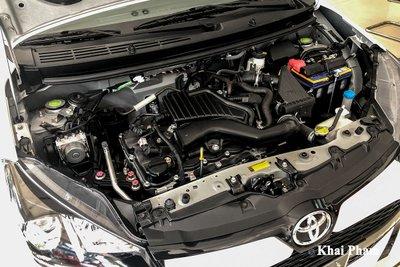Ảnh động cơ xe Toyota Wigo 2020
