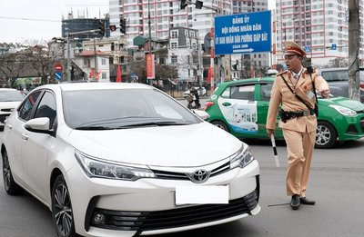 Cảnh sát giao thông mở đợt cao điểm xử lý vi phạm từ tháng 7 tới tháng 9.