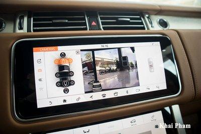 Ảnh camera 360 độ xe Range Rover SVAutobiography 2020