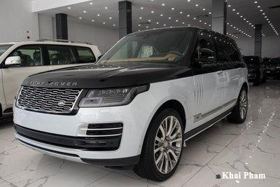 Ảnh đầu xe Range Rover SVAutobiography 2020 phải