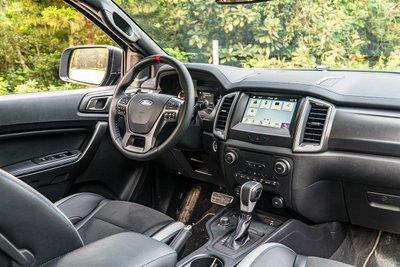 Bảng điều khiển hành trình trung tâm trên Ford Ranger Raptor.