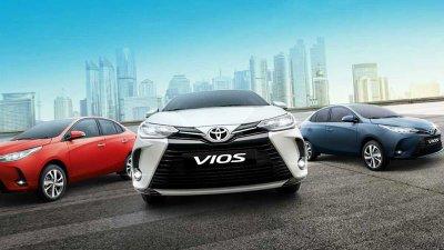 Toyota Vios 2021 ra mắt với giá tăng nhẹ.