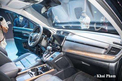 Khoang nội thất trênHonda CR-V 2020 gần như không thay đổi so với phiên bản tiềnnhiệm.