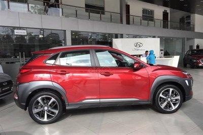 Hyundai Kona đứng đầu phân khúc về doanh số bán hàng tháng 1