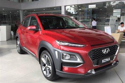 Hyundai Kona giảm giá mạnh tại đại lý 1