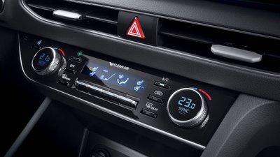 Công nghệ điều hòa mới của Hyundai có thể khử mùi, diệt nấm và lọc bụi mịn.