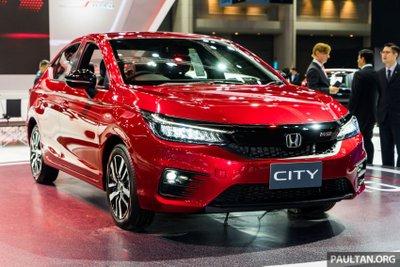 Honda City 2020 bản RS dành cho Thái Lan...