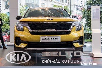 Ảnh đầu xe Kia Seltos Luxury 2020