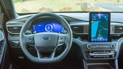 Ford Explorer ST 2021 cập nhật sắp tới tập trung vào làm mới nội thất.