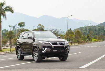 Khách hàng mua Toyota Fortuner trong tháng 8 được ưu đãi gần 130 triệu đồng.
