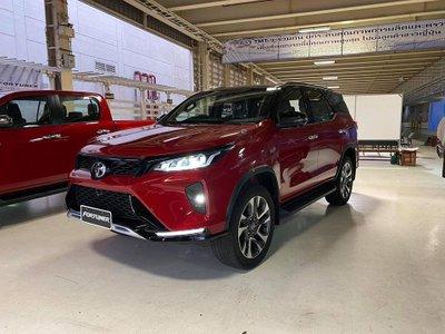 Toyota Fortuner Legender - biến thể cao cấp nhất của Toyota Fortuner 2021.