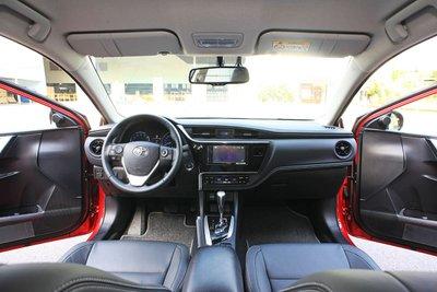 Toyota Corolla Altis 2020: Nội thất.