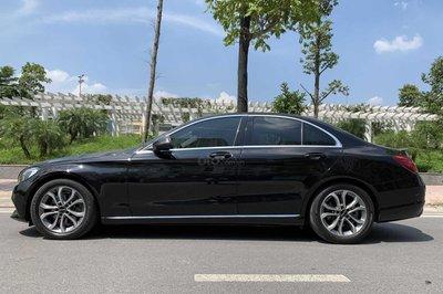Ngoại hình tổng thể Mercedes-Benz C200 2015 1