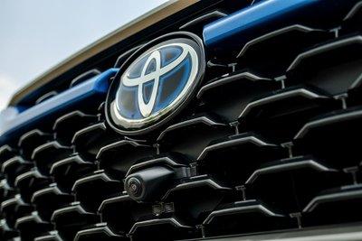 Ảnh camera 360 độ xe Toyota Corolla Cross 2020
