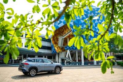 Ảnh thân xe Toyota Corolla Cross 2020