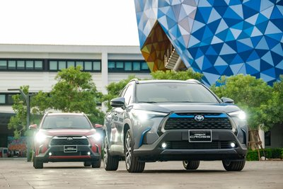 Ảnh đầu xe Toyota Corolla Cross 2020
