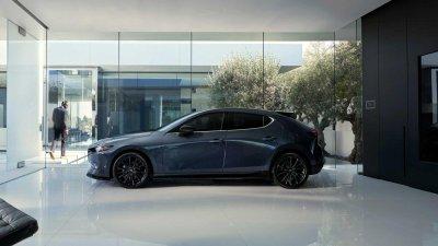 Mazda 3 2021 trở nên cao cấp hơn.