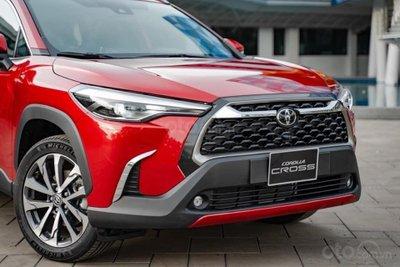 Thông số kỹ thuật xe Toyota Corolla Cross 2020: ngoại thất 1