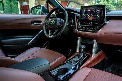 Ảnh nội thất Toyota Corolla Cross 2020