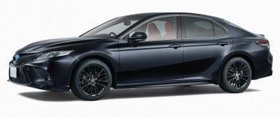Toyota Camry Black Edition hầm hố hơn nữa.