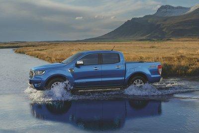 Ford Ranger đang là mẫu xe bán tải có khả năng lội nước tốt nhất trên thị trường.