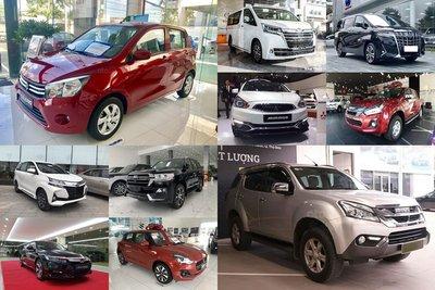 Top 10 ô tô bán chậm nhất thị trường tháng 7: Xe Toyota áp đảo 1