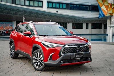 SUV Toyota Corolla Cross hoàn toàn mới ra mắt thị trường Việt Nam...