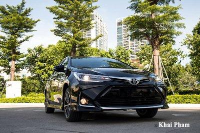 Ảnh đầu xe Toyota Corolla Altis 2020