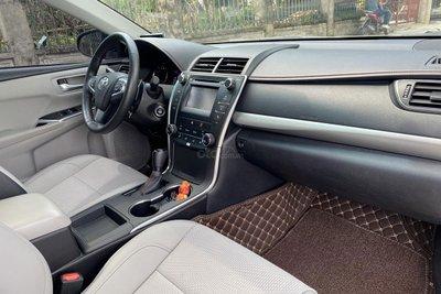 Không gian nội thất xe Toyota Camry 2015 nhập Mỹ 1