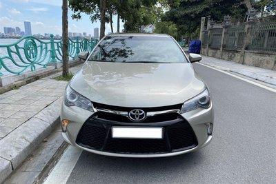 Thiết kế xe Toyota Camry 2015 nhập Mỹ 1