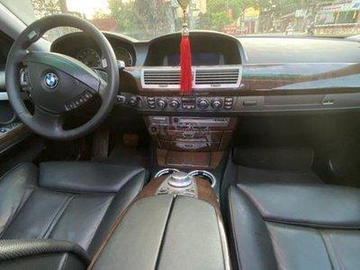 Chi tiết nội thất của BMW 750Li 2007.