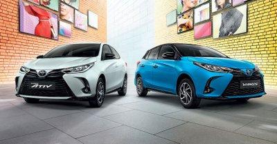 Toyota Yaris 2020 facelift chào giá 400 triệu tại Thái.