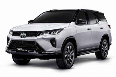 Toyota Fortuner bản nâng cấp mới ra mắt thị trường Thái Lan 1