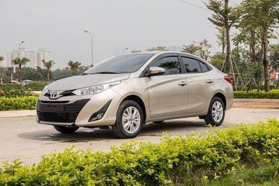 Toyota Vios 2020 mới ra mắt đầu tháng 01/2020 1