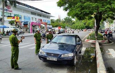 Cảnh sát trật  tự được xử phạt người vi phạm khi đi cùng CSGT hoặc có kế hoạch tuần tra, kiểm soát.