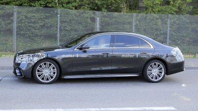 Mercedes S-Class 2021 bản hybrid có phạm vi chạy thuần điện gần 100 km.