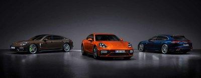 Porsche Panamera 2021 ra mắt.