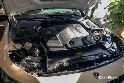 Ảnh động cơ xe Mercedes-AMG GT53 2020