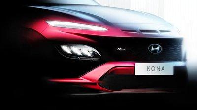 Hyundai tiện thể cũng bật mí luôn bản Kona N Line mới.