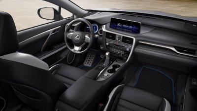Lexus RX Black Line 2021 bảo toàn sức mạnh lẫn hiệu suất tiêu thụ nhiên liệu vượt bậc.