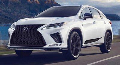 Lexus RX Black Line 2021 số lượng có hạn chào giá gần 1,2 tỷ.